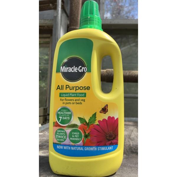 Miracle Gro - All Purpose - Liquid Plant Food - 1L