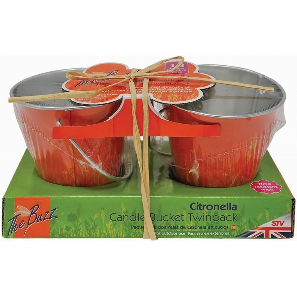 Citronella Bucket Candle - Twinpack