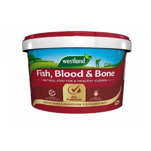 Westlands Fish, Blood & bone 10Kg Tub - Special £9.99