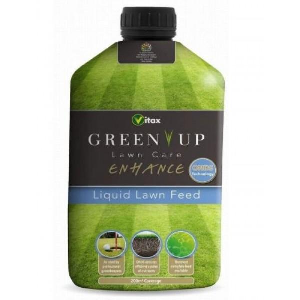 Vitax Green Up Enhance Liquid Lawn Feed 200m2