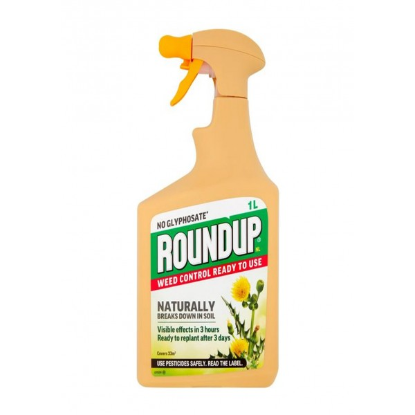 Roundup - No Glysophate