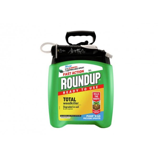 Roundup Pump & Go 5L ready to use