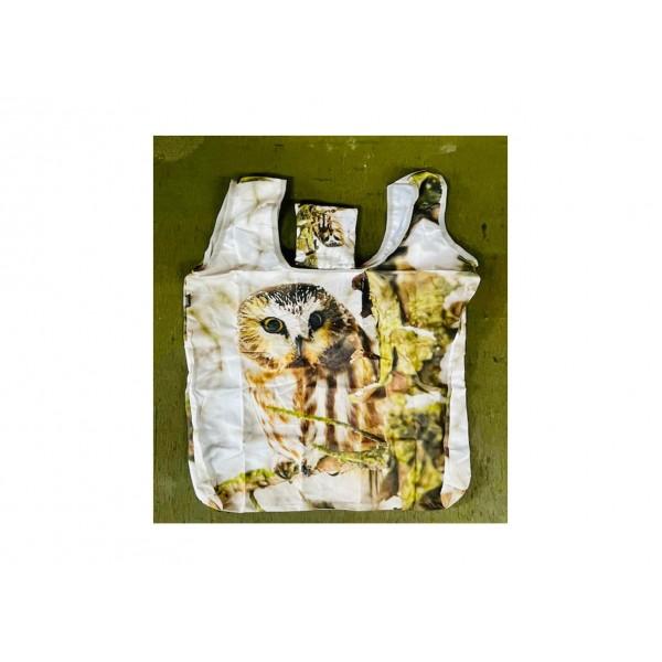 Foldable Owl Shopping Bag
