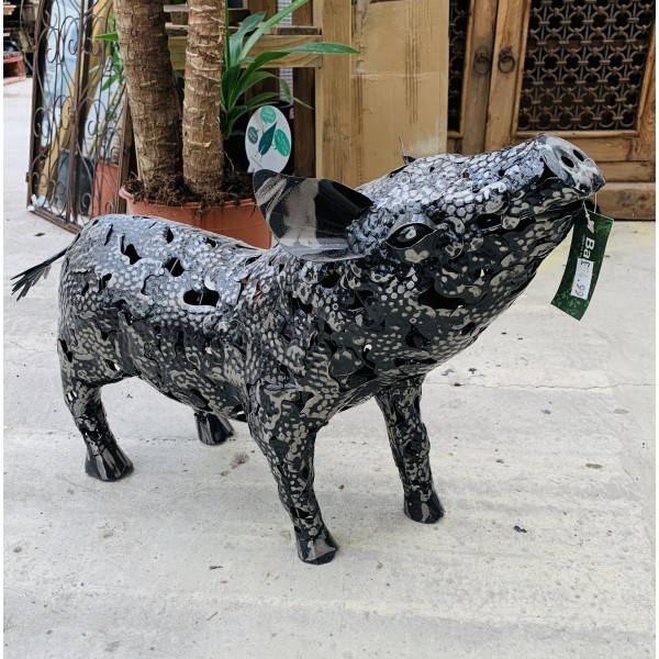 Garden Decorative Metal Pig