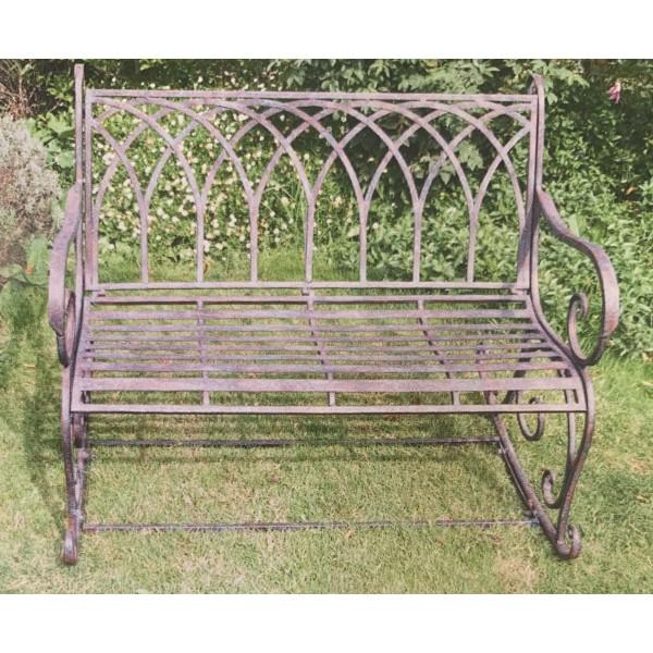 Cast Iron Bench - Rocking Chair