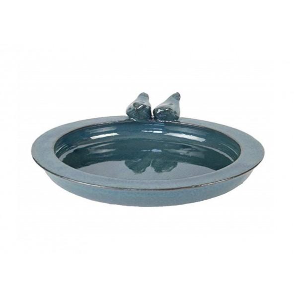 Bird Bath Ceramic Round