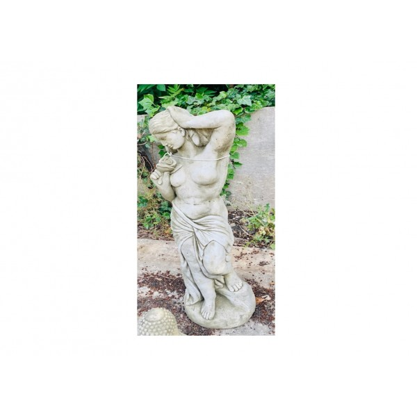 Rose Girl Statue