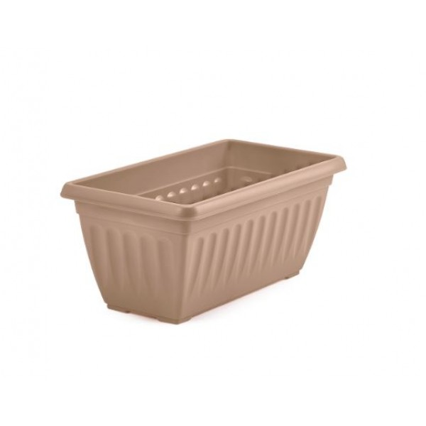 Window box trough - Plastic - Athens Taupe - 40cms