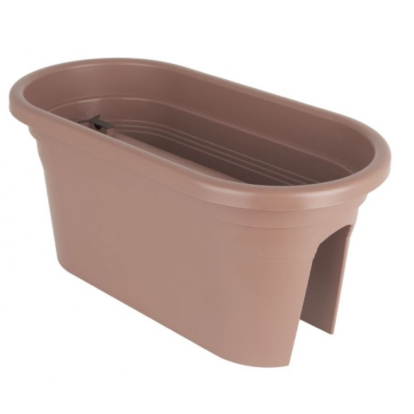 Balcony Trough - Plastic - Taupe - 60cm