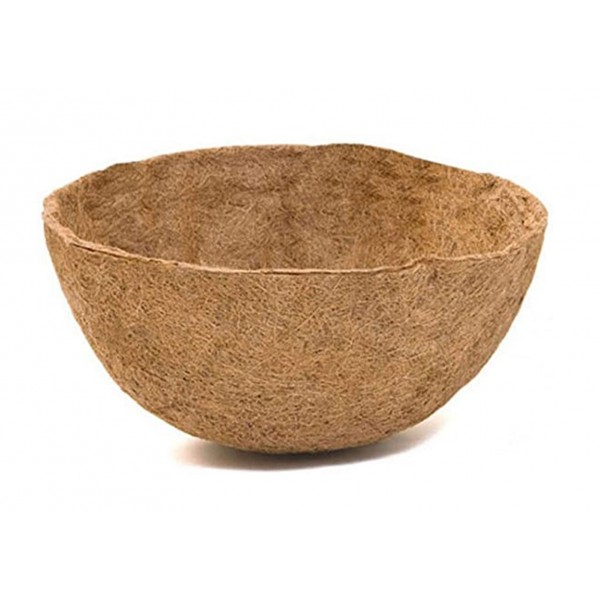 "Hanging Basket Coco Liner Bowl Shaped 14"""