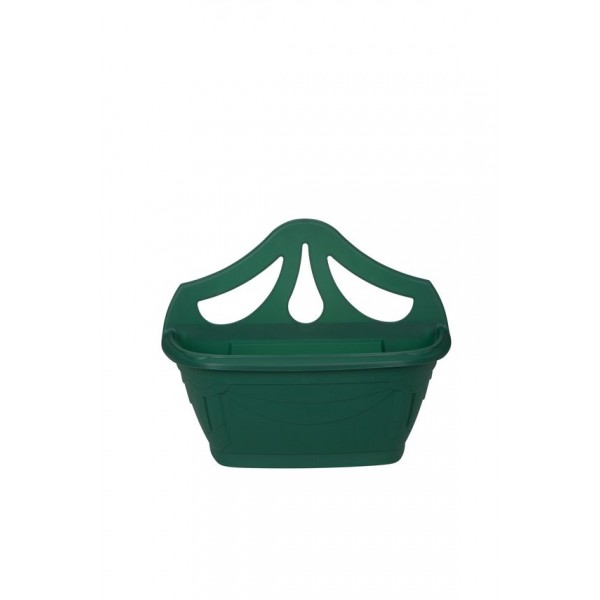 Wall Planter - Plastic - Green - 42cm