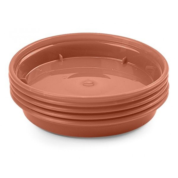 "Plastic saucer - for 5-6"" pots - x5"