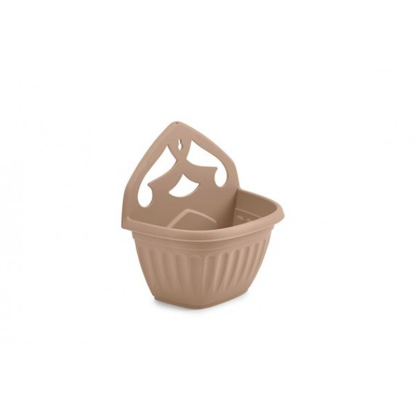 Wall Planter -  Plastic - Taupe - 32cm