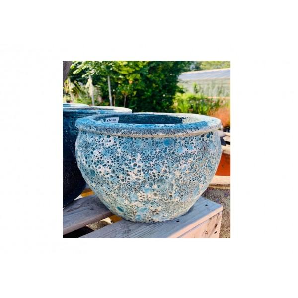 Vintage Blue Bell Pot