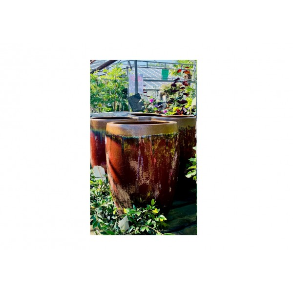 Tall Burgandy Pot SPECIAL PRICE WAS £199.99 NOW ONLY £75.00