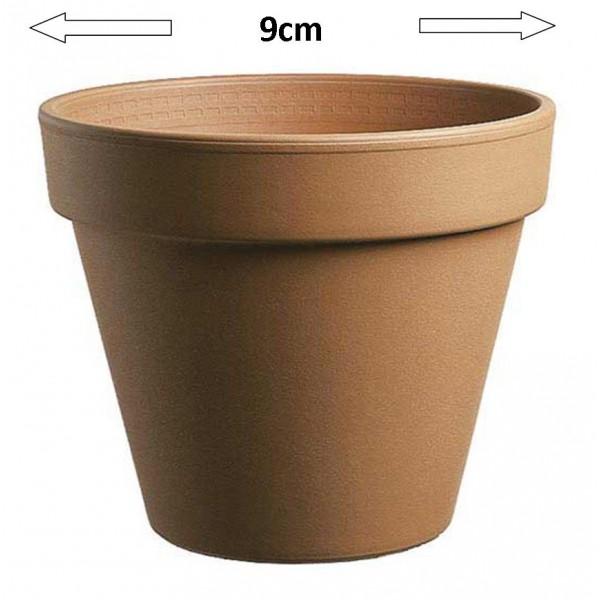 Terracotta clay pot std - 09cm x 1