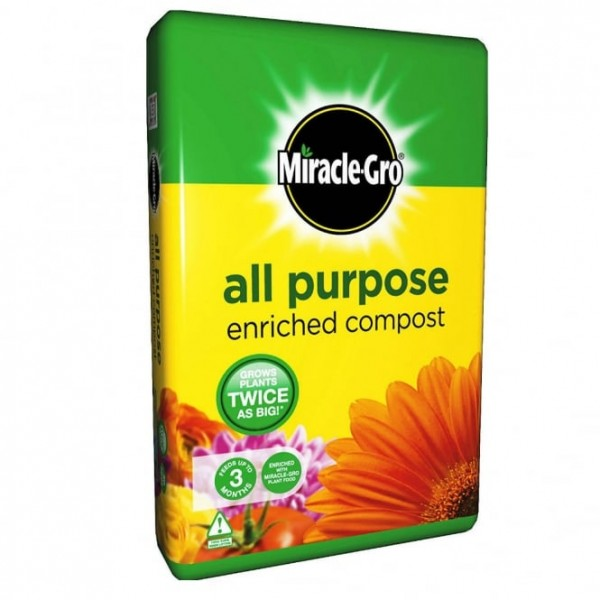 Miracle-Gro All Pupose Enriched Compost 20L