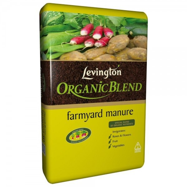 Levington Organic Blend Farmyard Manure 50L