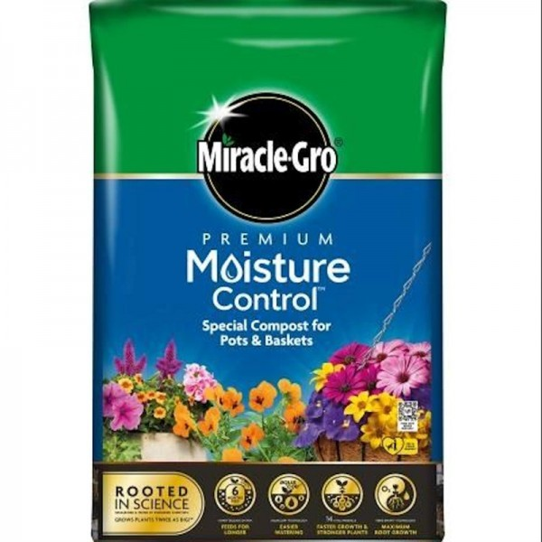 Miracle-Gro Moisture Control Compost 20L