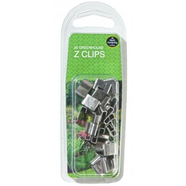 Greenhouse Z Clips x 25