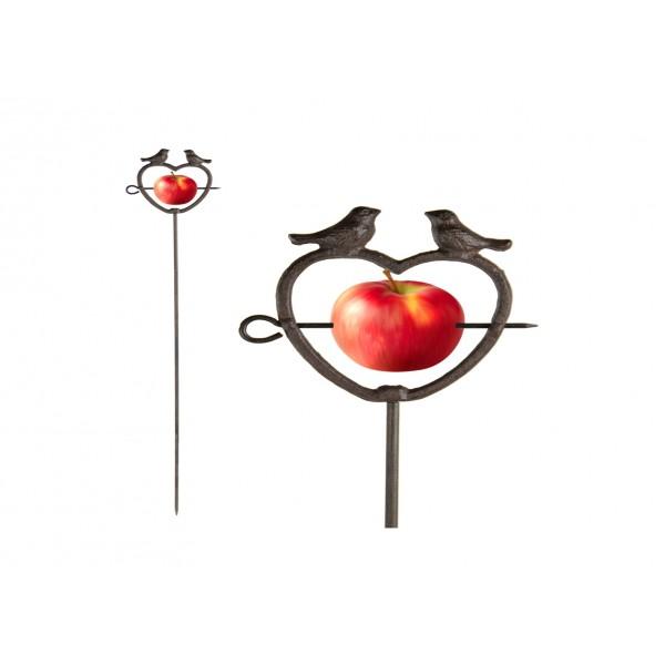 Apple Feeder on Stick